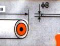 Wałek do farb emulsyjnych i akrylowych HARDY HARDEX 18cm fasady
